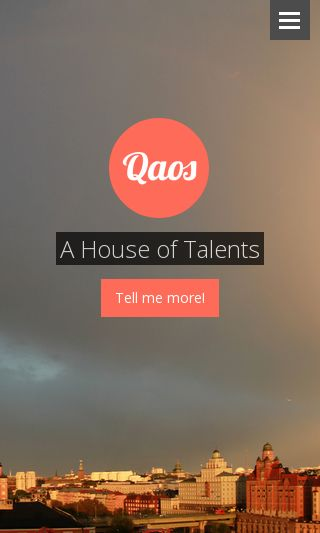 Mobile preview of qaos.se