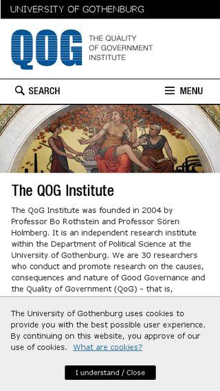 Mobile preview of qog.pol.gu.se