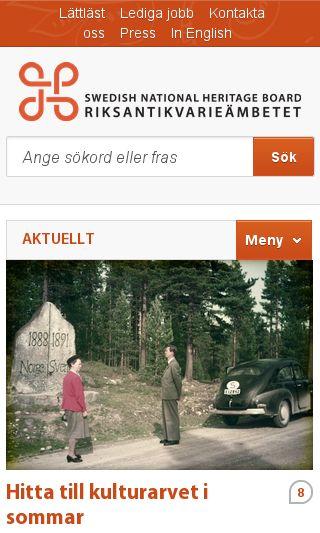 Mobile preview of askeryd.se