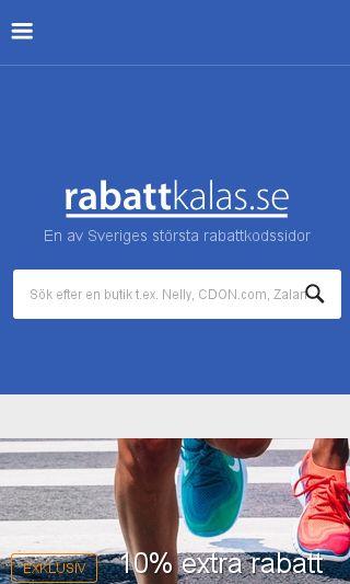 Mobile preview of rabattkalas.se