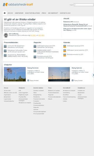 Mobile preview of rabbalshedekraft.se