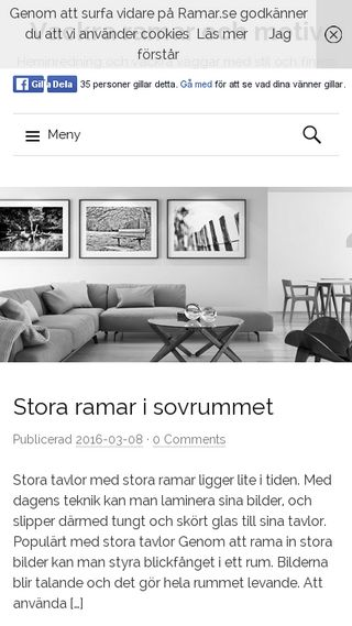 Mobile preview of ramar.se