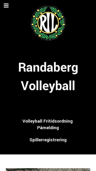 Mobile preview of randabergvolleyball.no