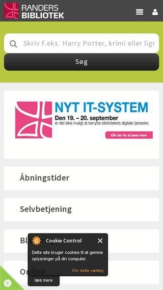 Mobile preview of randersbib.dk