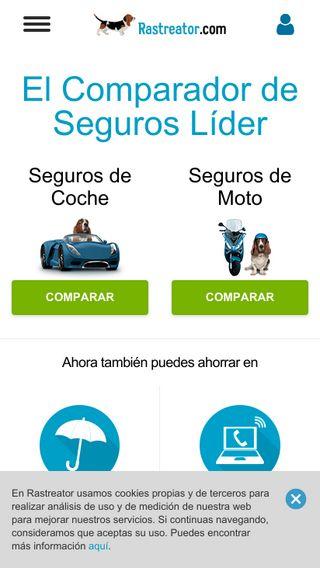 Mobile preview of btseguros.com