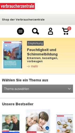 Mobile preview of ratgeber-verbraucherzentrale.de