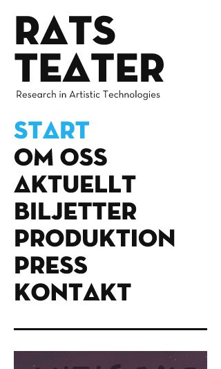Mobile preview of ratsteater.se