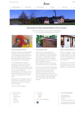 Mobile preview of rausstenkarlsfabrik.se