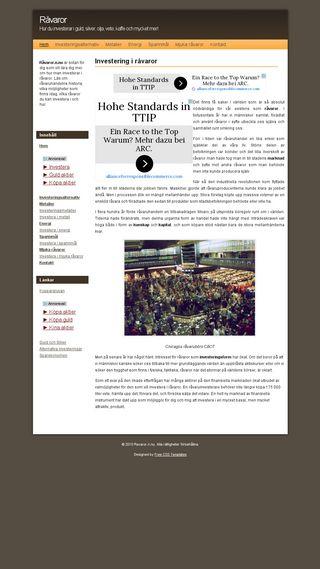 Mobile preview of ravaror.n.nu
