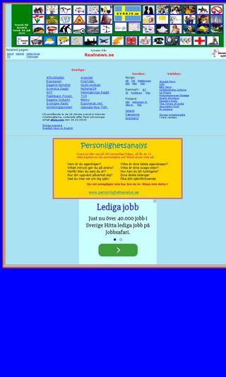 Mobile preview of realnews.se