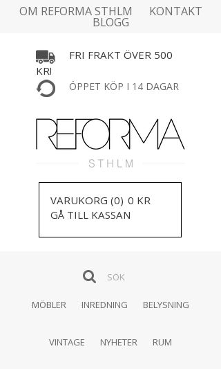 Mobile preview of reformasthlm.se