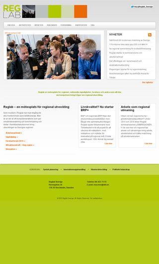 Mobile preview of reglab.se