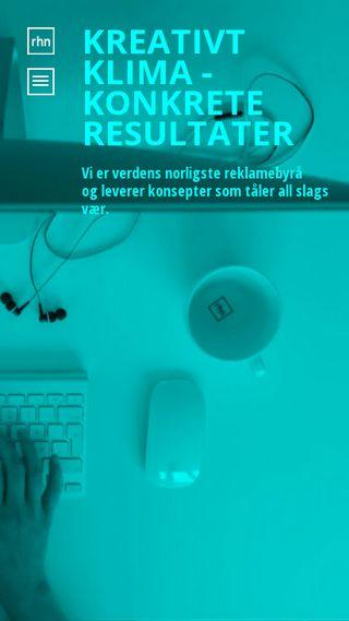 Mobile preview of reklamehusetnord.no