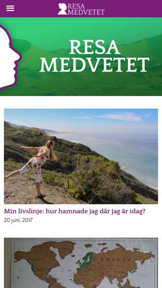 Mobile preview of resamedvetet.se