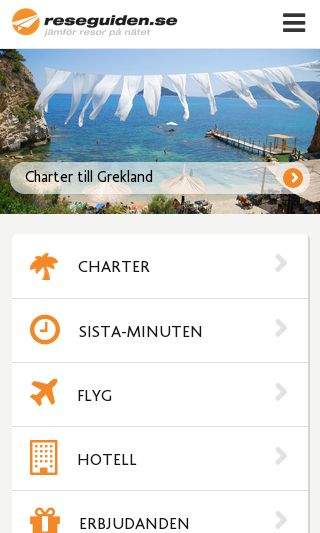 Mobile preview of reseguiden.se