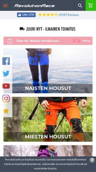 74a6e548 revolutionrace.fi | Domainstats.com