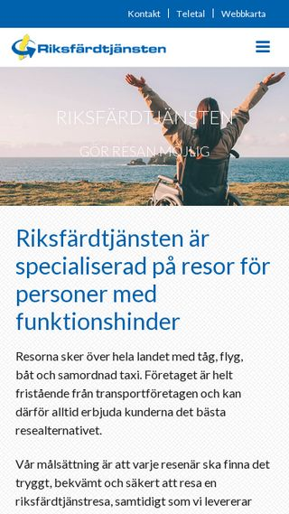 Mobile preview of rft.se