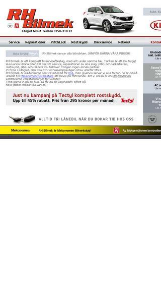 Mobile preview of rhbilmek.se