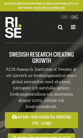 Mobile preview of ri.se
