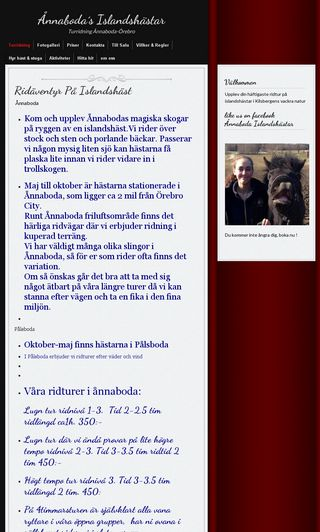 Mobile preview of ridaventyr.se