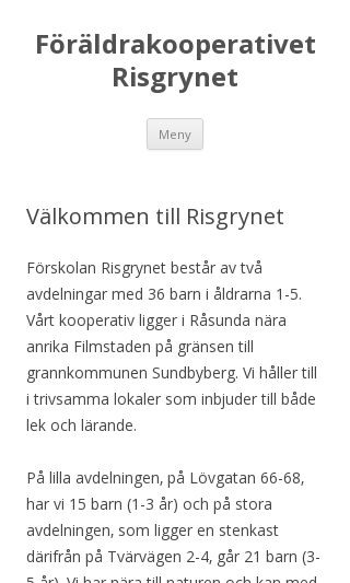 Mobile preview of risgrynet.se