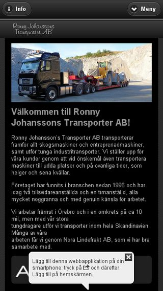 Mobile preview of rjt.se