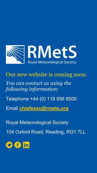 Mobile preview of rmets.org