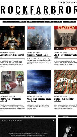 Mobile preview of rockfarbror.se