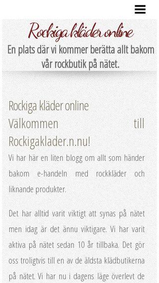 Mobile preview of rockigaklader.n.nu