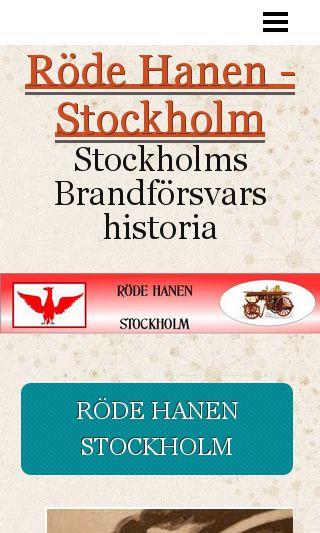 Mobile preview of rodehanenstockholm.se