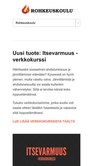 Mobile preview of rohkeuskoulu.fi