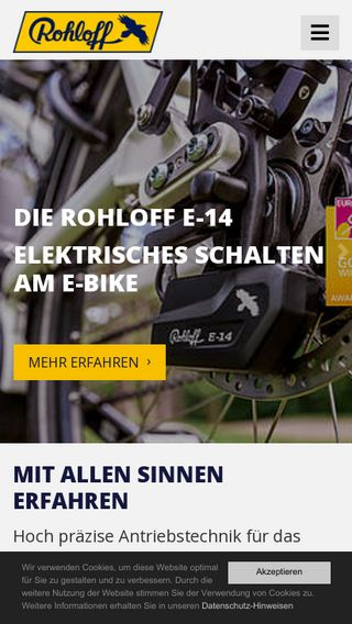 Mobile preview of rohloff.de