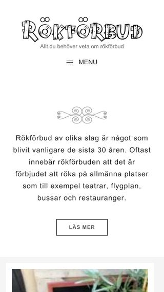 Mobile preview of rokforbud.se