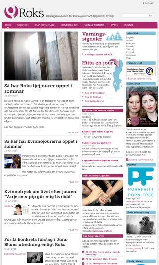 Mobile preview of roks.se
