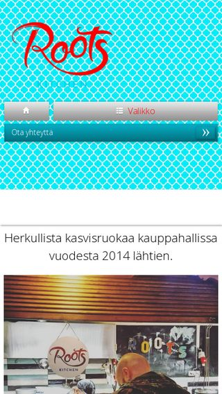 Mobile preview of rootskitchen.fi