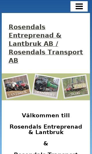 Mobile preview of rosendalsentreprenad.se