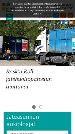 Mobile preview of rosknroll.fi