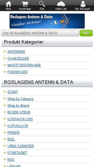 Mobile preview of roslagensantenn.se