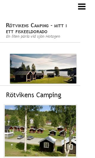 Mobile preview of rotvikenscamping.se