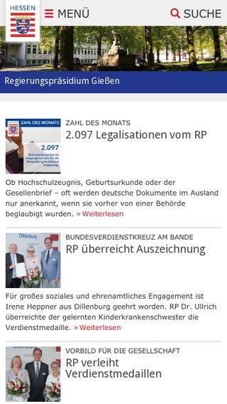 Mobile preview of rp-giessen.hessen.de