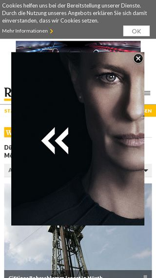Mobile preview of rp-online.de