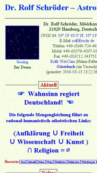 Mobile preview of rschr.de