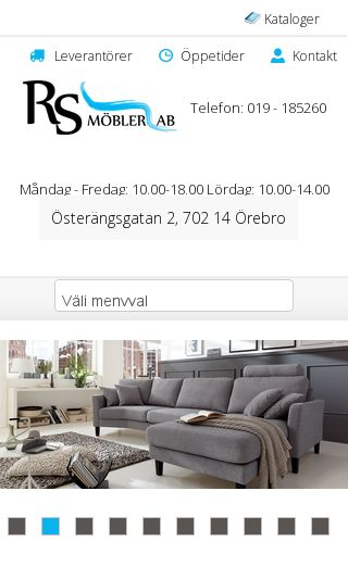 Mobile preview of rsmobler.se