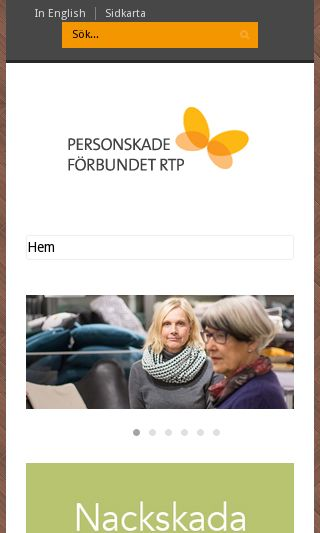 Mobile preview of rtp.se
