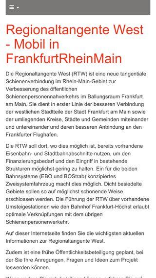 Mobile preview of rtw-hessen.de