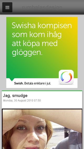Mobile preview of rumbalasdesign.blogg.se