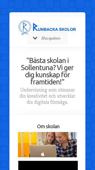 Mobile preview of runbackaskolor.se