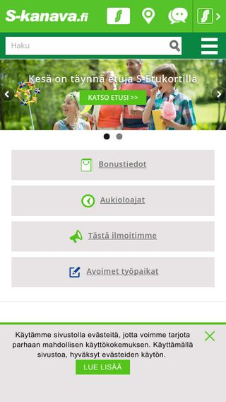 Mobile preview of s-kanava.fi