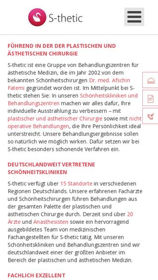 Mobile preview of s-thetic.de