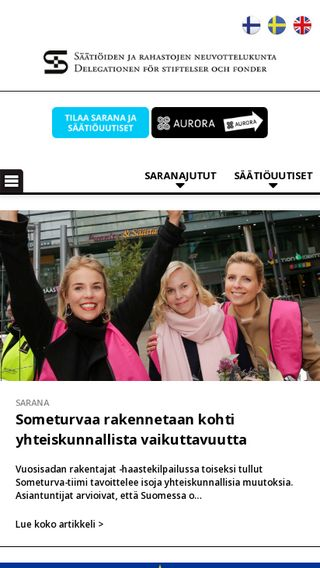 Mobile preview of saatiopalvelu.fi